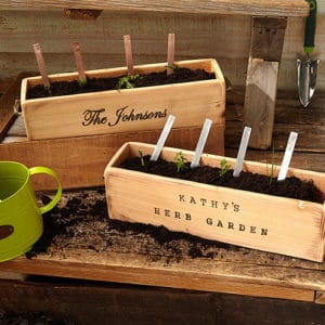 Personalized Herb Planter Father's Day Gift