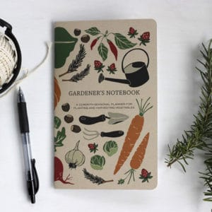 Gardener's Notebook Garden Gifts