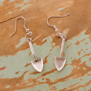 Spade Charm Earrings Gifts for Urban Gardeners