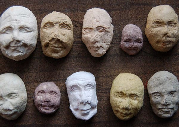 Sprouting Seed Face Unusual Gardening Gift