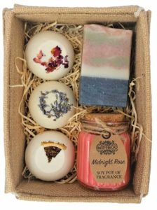 Flower Garden Spa Gift Set