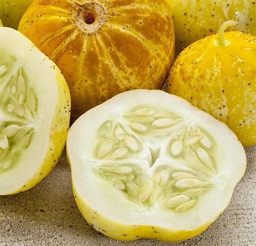 Lemon Cucumber Unique Plants to Deter Garden Thieves