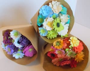 Paper Flower Bouquet - Valentine's Day Gifts for Gardeners