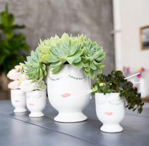 Face Planter Vases Gifts for Mother's Day