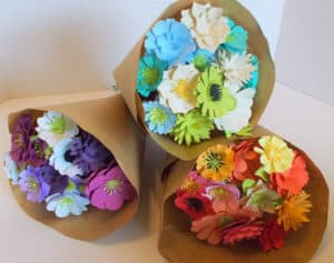 Seed Paper Flowers Bouquet Mother's Day Gardening Gifts
