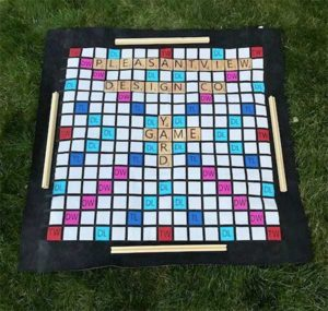 Scrabble Words with Friends Outdoor Game